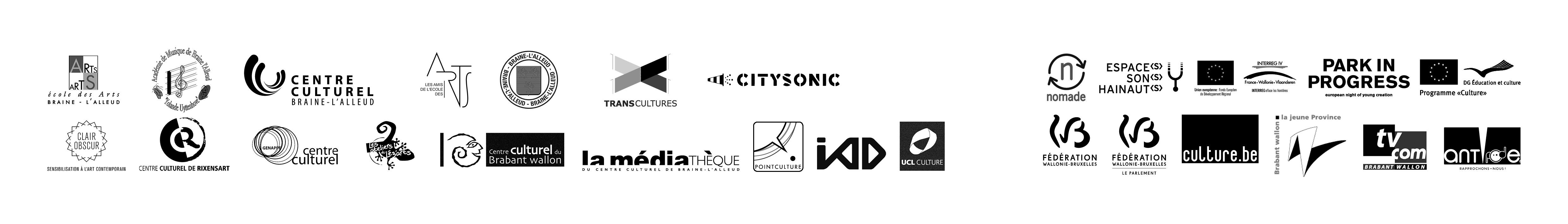 Logos des partenaires de Résonances
